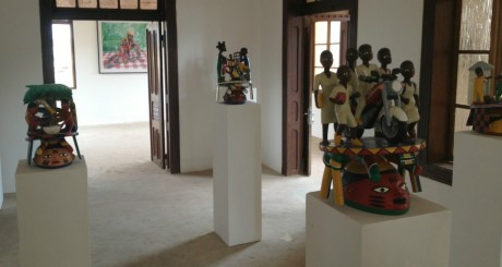Une salle d'exposition du musée d'art contemporain de Ouidah © Fondation Zinsou