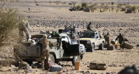 Militaires tchadiens à Tessalit, avril 2013 / AFP