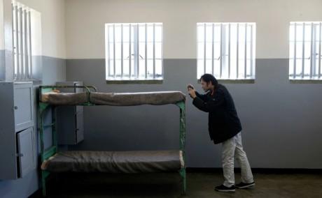 Prison de Robben Island, 2009. REUTERS/Siphiwe Sibeko
