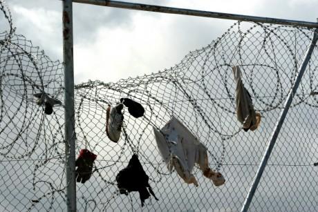 Enclave de Melilla entre l'Espagne et le Maroc, 2005. Rafael Marchante/ Reuters