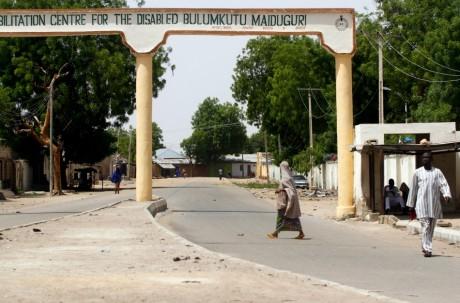 Maiduguri, au Nord-est du Nigeria. REUTERS/Afolabi Sotunde