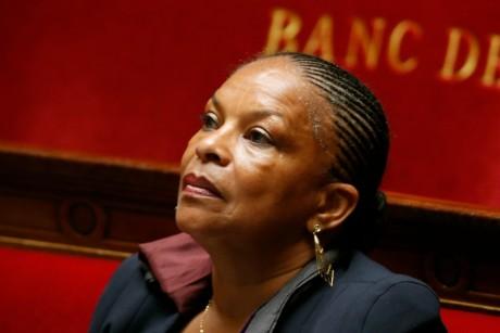 Christiane Taubira à l'Assemblée Nationale,  REUTERS/Charles Platiau