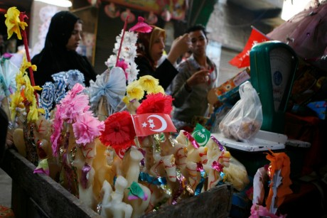 Boutique égyptienne tradionnelle de poupées de sucre , REUTERS/Amr Dalsh