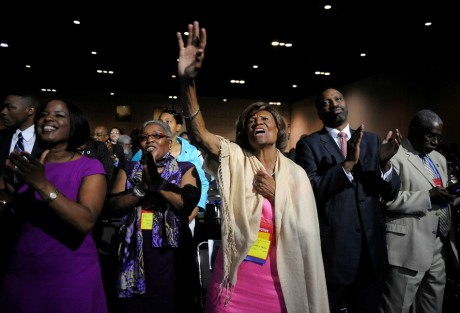 Hazel Dukes membre de l'association NAACP à Orlando, REUTERS/David Manning