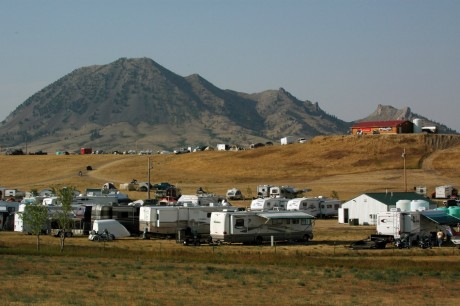 Camping sur les terres sacrées des Amerindiens dans le Dakota du Sud, REUTERS/Jonathan Ernst