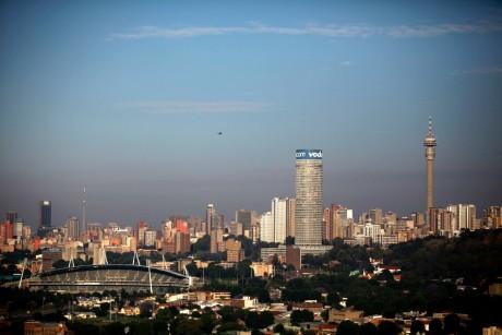 Vue de la ville de Johannesburg, REUTERS/Siphiwe Sibeko1