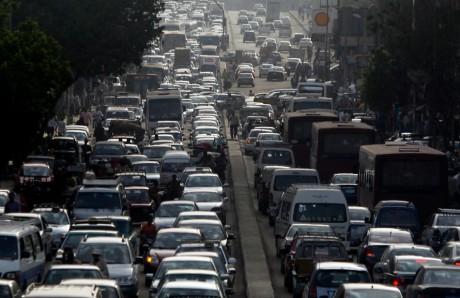 Embouteillage au Caire en Egypte, REUTERS/Amr Dalsh