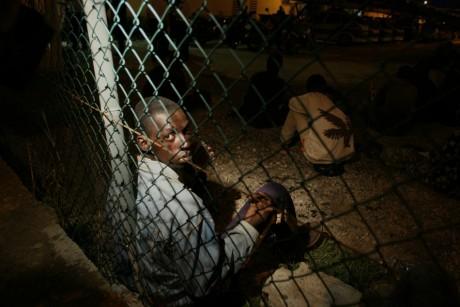 Immigrants à la frontière de Maroc et de la ville espagnole de Melilla, REUTERS/Rafael Marchante