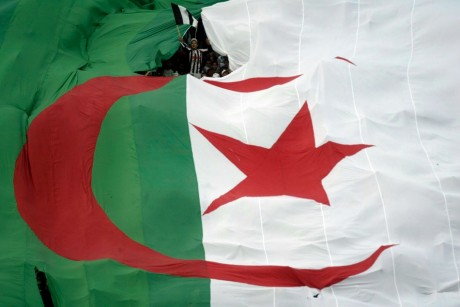 Fans de l'ES Setif  en Algérie, REUTERS/Louafi Larb