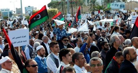 Manifestation de protestation, Tripoli, Novembre 2013 / Reuters