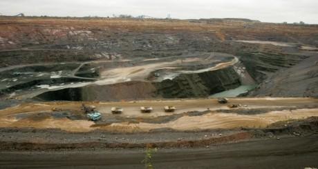 La mine de Jwaneng, dans le Sud du Botswana. Alexander Joe/AFP