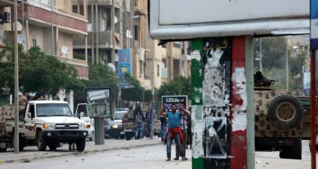 Affrontements entre Ansar Charia et l'armée libyenne, Benghazi, novembre 2013 / Reuters
