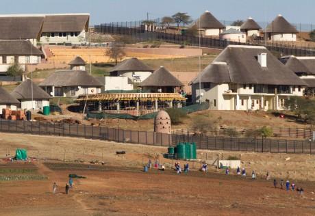 La ferme de Jacob Zuma dans son village natal de Nkandla / REUTERS