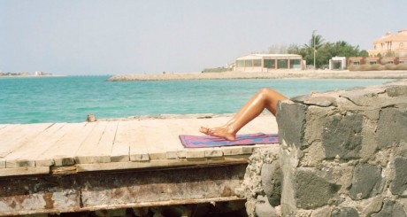 Sur une plage privée de Durrat Al-Arrous, près de Djeddah © Olivia Arthur