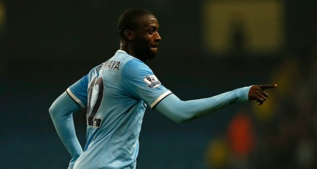 Yaya Touré, joueur africain de 2013 / Reuters