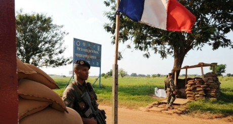 Soldats français à Bangui / AFP