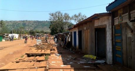 Un quartier de Bangui, 7 décembre 2013 / Reuters