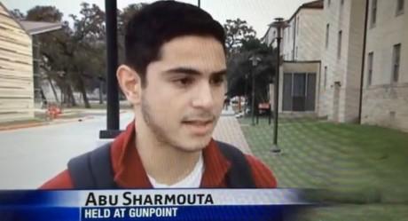 Abu Sharmouta en pleine interview / Capture d'écran.
