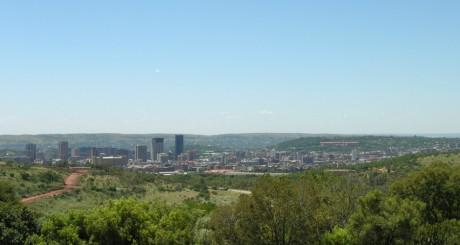 Une vue de Pretoria: Kleinfontein se trouve à 30 km de là, by Mister -E via Flickr CC.
