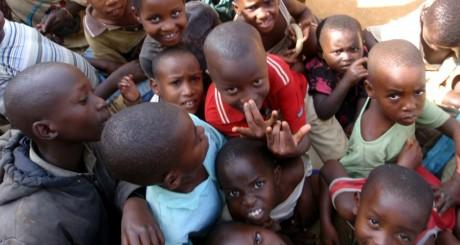 Enfants batwa, Rwanda / AFP
