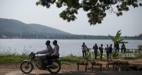 Le fleuve Oubangui, qui longe la capitale centrafricaine / AFP