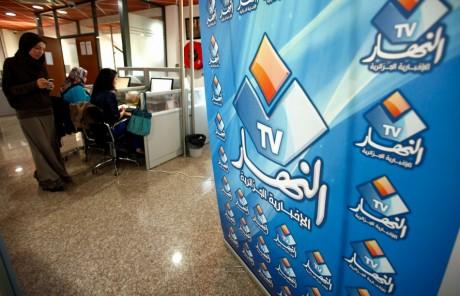 Ennahar TV, bureau d'Alger, le 8 mai 2012. REUTERS/Zohra Bensemra