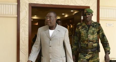 Michel Djotodia, le 24 décembre à Bangui. AFP/Miguel MEDINA