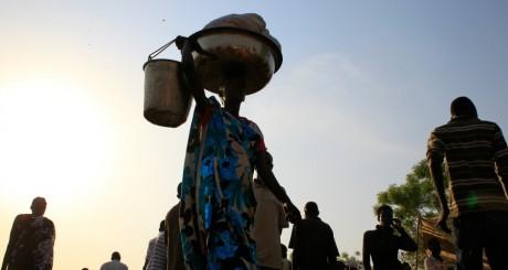 Un camp de déplacés à Juba / Reuters