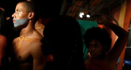 Des mannequins noirs brésiliens, Rio de janeiro, novembre 2012. REUTERS/Pilar Olivares