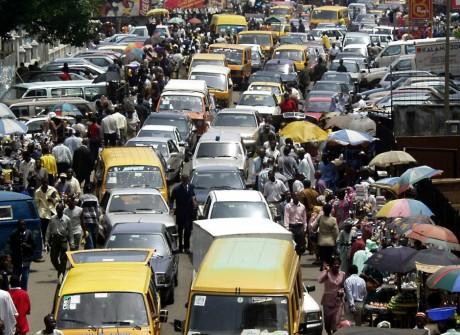 Embouteillage à Lagos au Nigeria, REUTERS/George Esiri