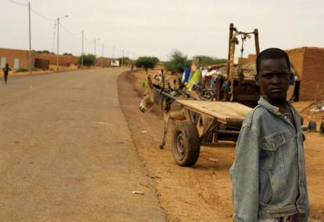 Un garçon du village de Boni au Mali, REUTERS / Adama Diarra