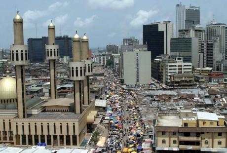 Vue sur les embouteillages de Lagos au Nigeria, REUTERS/George Esiri