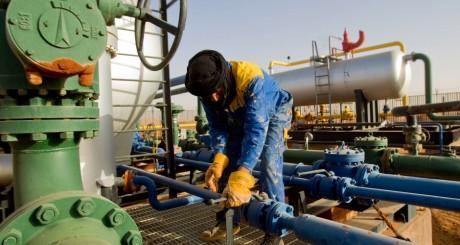 Un employé de la base pétrolière d'In Amenas. REUTERS/Louafi Larbi