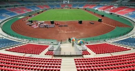 Le stade de Bata, Guinée équatoriale, construit pour la CAN 2012. REUTERS/Amr Abdallah Dalsh