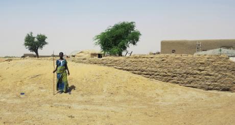 Le village de Teherd près de Tombouctou, novembre 2013. REUTERS/Adama Diarra