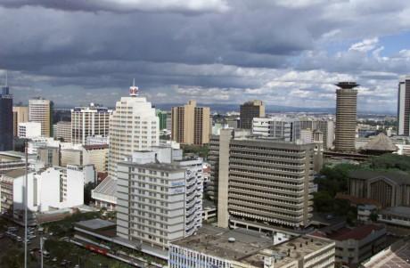 Vue de la ville de Nairobi au Kenya, REUTERS