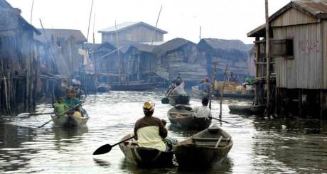 Makoko, près de Lagos © AFP