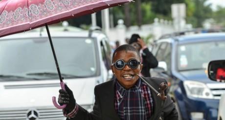 Un sapeur congolais / AFP