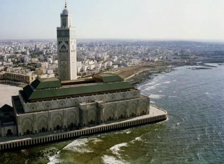 Vue de la mosquée Hassan II à Casablanca au Maroc, REUTERS/Desmond Boylan