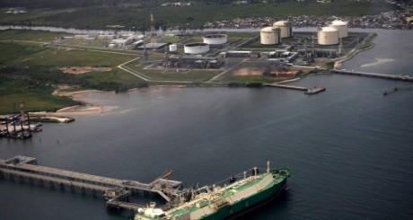 Plateforme pétrolière près de Finima, Nigeria. REUTERS/Akintunde Akinleye