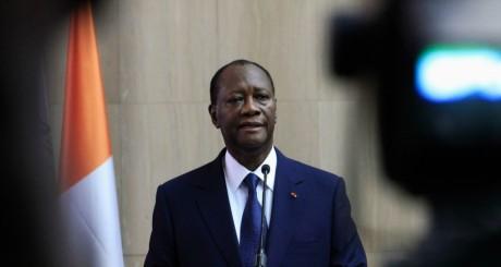Alassane Ouattara, Abidjan, 2 mars 2014. REUTERS/Thierry Gouegnon