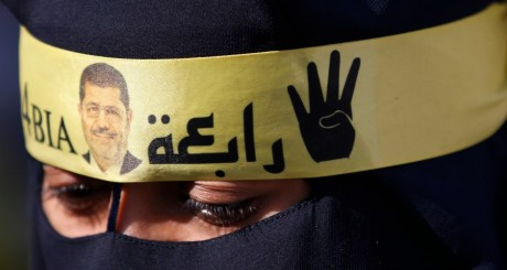 Une supportrice de Mohammed Morsi (Frères musulmans) / REUTERS