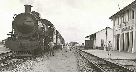 Brazzaville Congo-Ocean Railway, 1932 by Wikimedia Commons