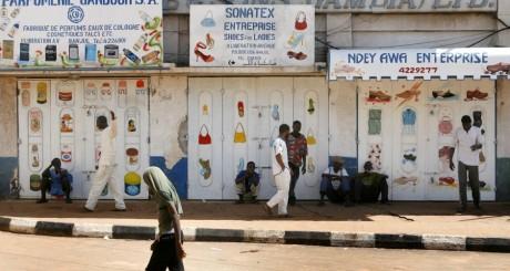 Un quartier de Banjul / REUTERS
