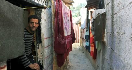 Un habitant du bidonville d'el Wiam, à Alger / AFP