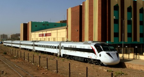 Le Nile Train, le train que vient de s'offrir le Soudan / AFP