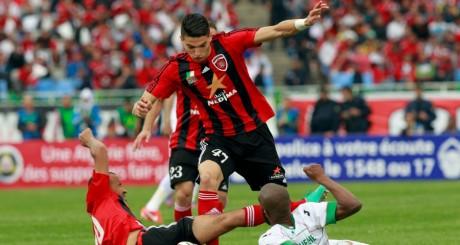 Un joueur de l'équipe du MC Alger, lors de la finale de mai 2013 / REUTERS