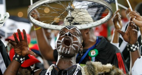 Un supporteur du TP Mazembe / REUTERS