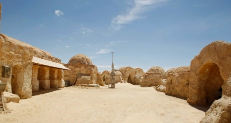 Un site de tournage de Star Wars; Nefta, Tunisie / REUTERS