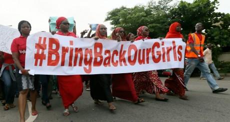 Manifestation de soutien aux jeunes filles enlevées par Boko Haram, Abuja, mai 13 mai 2014 / REUTERS
